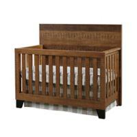 Westwood Design Urban Rustic 4-in-1 Convertible Crib in Wheat