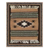 Tribal Rug I Framed Print Wall Art