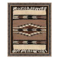 Tribal Rug 25.5-Inch x 31.5-Inch Framed Wall Art