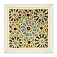Intricate Pattern 27-Inch Square Framed Wall Art