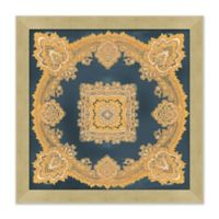 Ornate Pattern 27.5-Inch Square Framed Wall Art
