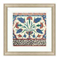 Tile Design Framed Print Wall Art