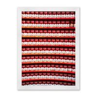 Cans Paper Print 15-Inch x 20-Inch Framed Wall Art