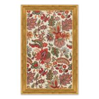 Floral Design 2 26-Inch x 41-Inch Paper Framed Wall Art