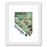 Nevada 22.5-Inch x 27.5-Inch Paper Framed Wall Art