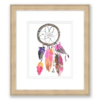 Dreamcatcher I 14-Inch x 16-Inch Paper Framed Print Wall Art