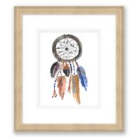 Dreamcatcher II 14-Inch x 16-Inch Framed Print Wall Art