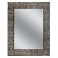 Head West 22-Inch x 28-Inch Moroccan Mosaic Mirror
