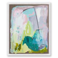 Miami 16-Inch x 20-Inch Framed Canvas Wall Art