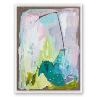 Miami 30-Inch x 40-Inch Framed Canvas Wall Art