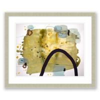 Mid-Century Abstract 5 31.5-Inch x 25.5-Inch Framed Wall Art