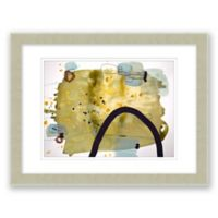 Mid-Century Abstract 5 17.5-Inch x 14.5-Inch Framed Wall Art