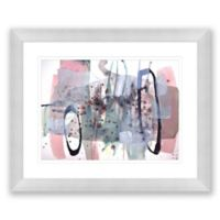 Color and Shape 4 31.5-Inch x 25.5-Inch Framed Wall Art
