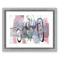 Color and Shape 4 39.5-Inch x 31.5-Inch Framed Wall Art