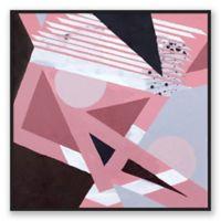 Breakfast Club 40-Inch Square Framed Canvas Wall Art