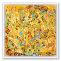 Carnival 40-Inch Square Framed Canvas Wall Art