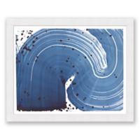 Indigo Crop 4 31.5-Inch x 25.5-Inch Framed Diptych Wall Art