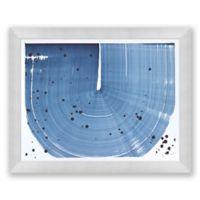 Indigo Crop 3 31.5-Inch x 25.5-Inch Framed Diptych Wall Art