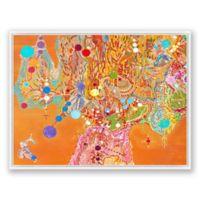 Bailando 40-Inch x 30-Inch Framed Canvas Wall Art