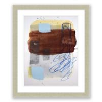 Mid-Century Abstract 1 19.5-Inch x 23.5-Inch Framed Wall Art