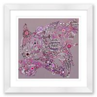 Disco 3 20-Inch Square Framed Wall Art