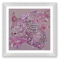 Disco 3 39.5-Inch Square Framed Wall Art