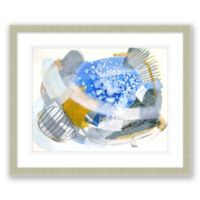 Mid-Century Abstract 2 23.5-Inch x 19.5-Inch Framed Wall Art