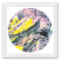 Playa Moon 39.5-Inch Square Framed Wall Art