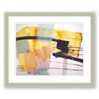 Midcentury Abstract 23.5-Inch x 19.5-Inch Paper Framed Print