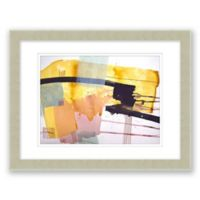 Midcentury Abstract 17.5-Inch x 14.5-Inch Paper Framed Print
