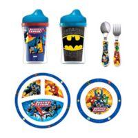 NUK® Justice League Batman Toddler Feeding Set in Blue