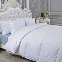 Peace Nest Extra Warmth Twin Goose Down Comforter in White