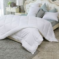 Puredown Year Round Down Alternative King Comforter in White