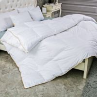 Puredown 500-Thread-Count Year Round Goose Down King Comforter