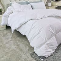 Puredown All Seasons Down Full/Queen Comforter in White