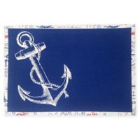 Design Imports Anchor Placemat