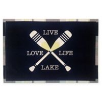 Design Imports Oars Live Love Lake Placemat