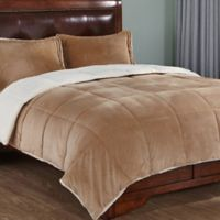 Peace Nest Down Alternative King Comforter in Gold