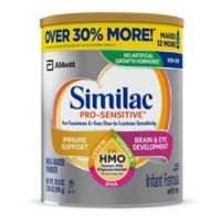 Similac® Pro-Sensitive Value Size 29.8 oz. Infant Formula Powder
