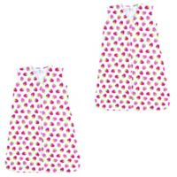 Luvable Friends® Size 18-24M 2-Pack Strawberry Sleeping Bag in Pink