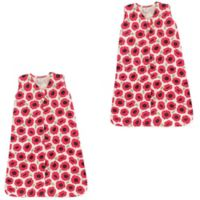 Touched by Nature Size 12-24M 2-Pack Poppy Wearable Blankets in Pink