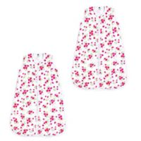 Hudson Baby® Size 12-18M 2-Pack Strawberry Wearable Blankets in Red