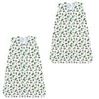 Luvable Friends® Size 18-24M 2-Pack Moose Sleeping Bags in Green