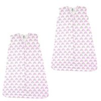 Luvable Friends® Size 12-18M 2-Pack Rainbows Sleep Sacks in Pink