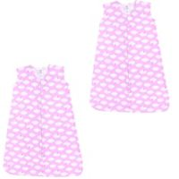 Luvable Friends® Size 18-24M 2-Pack Clouds Sleep Sacks in Pink