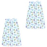 Luvable Friends® Size 18-24M 2-Pack Jungle Sleep Sacks in Yellow