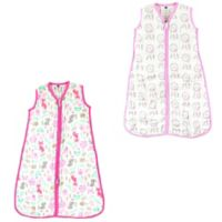 Hudson Baby® Size 12-18M 2-Pack Dream Catchers and Wood Sleep Sacks in Pink