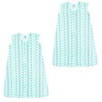 Luvable Friends® Size 18-24M 2-Pack Sheep Sleep Sacks in Green
