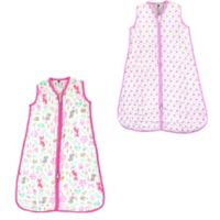 Hudson Baby® Size 18-24M 2-Pack Sheep and Woodland Fox Sleep Sacks in Pink