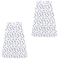 Luvable Friends® Size 12-18M 2-Pack French Poodle Sleep Sacks in White
